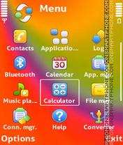 Colorfull adam11 es el tema de pantalla