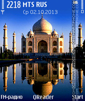 Taj-Mahal es el tema de pantalla