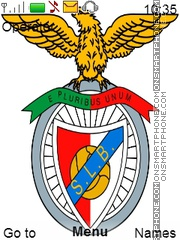Benfica theme screenshot