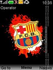 Barcelona 2013-14 theme screenshot
