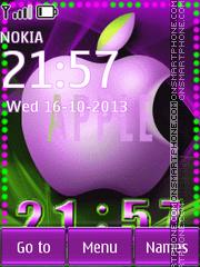 Apple theme screenshot