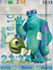 Monsters University theme screenshot