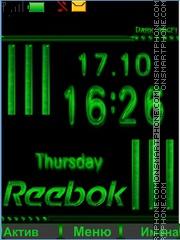 Reebok theme screenshot