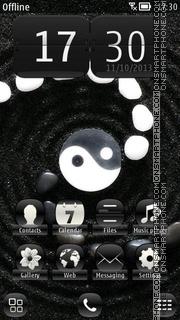 Yin and Yang Sign es el tema de pantalla