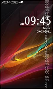 Скриншот темы Colorful Abstract HD