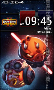 Angry Birds Star Wars II theme screenshot
