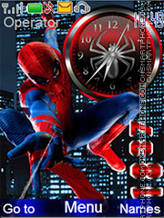 Spider-man theme screenshot