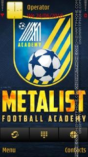 Academy Metalist es el tema de pantalla