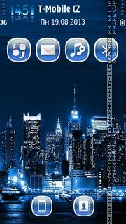 Neon CityScape es el tema de pantalla