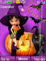 Happy Halloween es el tema de pantalla