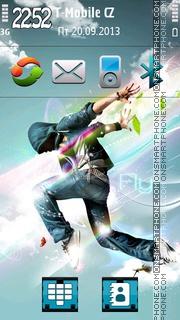 Hip-Hop Dance 01 es el tema de pantalla