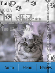 Whiskas tema screenshot