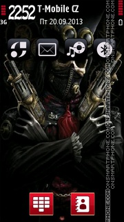 Demon 06 theme screenshot