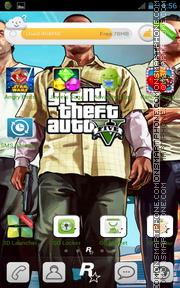 GTA V tema screenshot