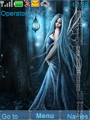 Blue fairy es el tema de pantalla