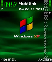 Window xp theme screenshot