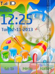 Color Paint theme screenshot