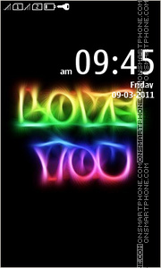 Love You 20 theme screenshot
