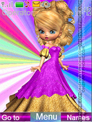 Doll theme screenshot
