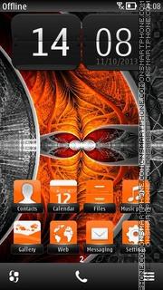 Fishbone Orange es el tema de pantalla