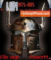 Warrior 01 theme screenshot