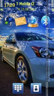 Honda Accord 02 es el tema de pantalla