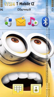 Despicable Me 2 03 theme screenshot