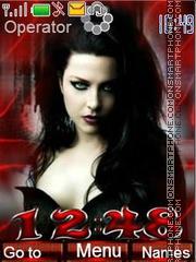 Amy Lee (Evanescence) es el tema de pantalla