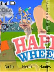 Happy Wheels es el tema de pantalla