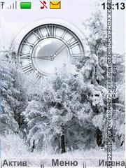 Winter Forest es el tema de pantalla