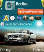 Audi Cabrio A4 es el tema de pantalla