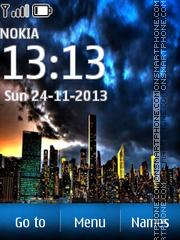 Amazing City 01 theme screenshot