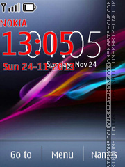 Xperia Ultra Series Official theme screenshot