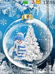 Snow Globe es el tema de pantalla