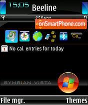 Symbian Vista all theme screenshot