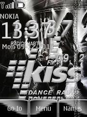 Kiss FM theme screenshot