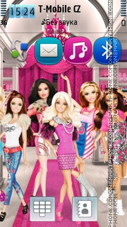 Barbies theme screenshot