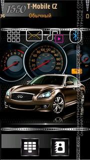 Car Speedometer es el tema de pantalla