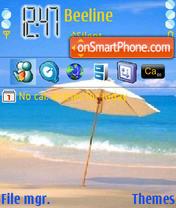 Beach 08 es el tema de pantalla
