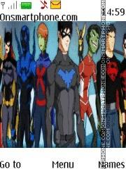 Young Justice tema screenshot