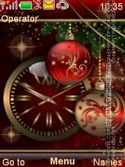 The red festive es el tema de pantalla