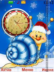 Happy holidays es el tema de pantalla
