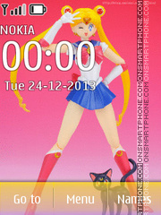 S.H.Figuarts: Sailor Moon 2013 №2 theme screenshot