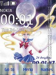 Sailor Moon (Artbook) tema screenshot