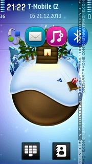 Christmas On Earth tema screenshot