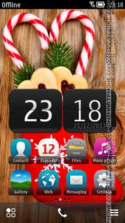 Christmas Decoration 01 tema screenshot