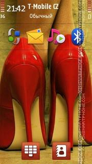 Red Heels es el tema de pantalla