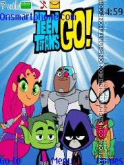Teen Titans Go theme screenshot