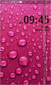 Скриншот темы Pink drops