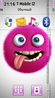 3D Pink Monster es el tema de pantalla